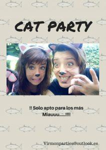 Cat Party - Virmon Parties Fiestas temáticas infantiles