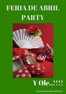 Feria de Abril Party - Virmon Parties  Fiestas temáticas infantiles