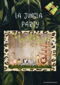 La Jungla Party - Virmon Parties  Fiestas temáticas infantiles