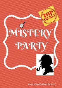 Mistery Party - Virmon Parties  Fiestas temáticas infantiles