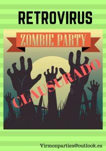 Retrovirus zombie Party - Virmon Parties  Fiestas temáticas infantiles
