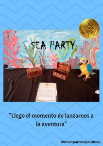Sea Party - Virmon Parties  Fiestas temáticas infantiles