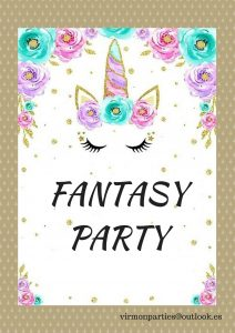 Fantasy Party - Virmon Parties  Fiestas temáticas infantiles