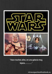 Star Wars Party - Virmon Parties  Fiestas temáticas infantiles