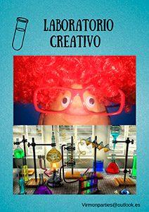 Laboratorio creativo party - Virmon parties, fiestas temáticas infantiles
